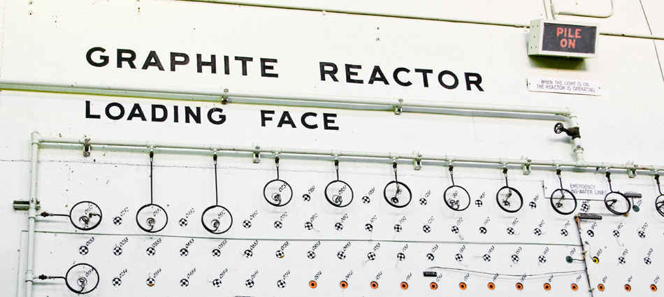 Though the Chernobyl RBMK reactor was also constructed of graphite, this graphite reactor is located at Oak Ridge National Laboratory in Tennessee